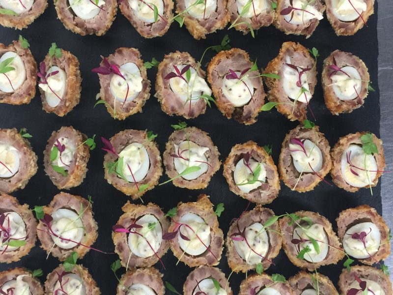 Canapes business red cherry catering for Canape calculator